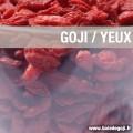 Le Goji, bon pour les yeux : améliore l'acuité visuelle